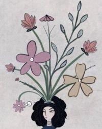 flower hat