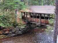 Covered bridge over the Amnicon River