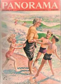 Themes Vintage illustrations/pictures - Panorama Magazine Cover 1953