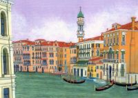 Grand Canal by David Hinchen on etsy