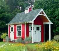 "The ""School House-Look"" Shed"