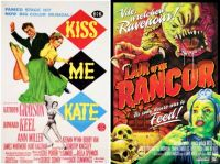 Kiss Me Kate ~ 1953 and Lair of the Rancor