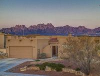 Las Cruces desert home with Organ Mt views