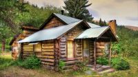 Small Log Cabin In The Hills...