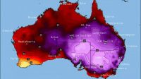Australia's Feb 2017 heatwave