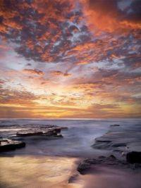 Seascape sunrise