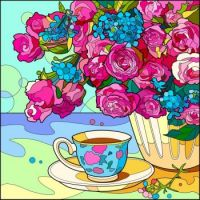 Afternoon Tea and Flowers