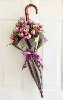 Naaranžované květy