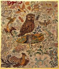 Needlework Textile (furnishing fabric), 1700-1750, possibly Flemish