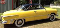 1951 Ford Victoria Yellow and Black