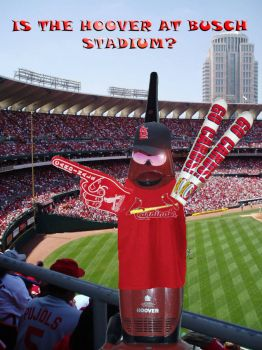 49) Is the Hoover at Busch Stadium?
