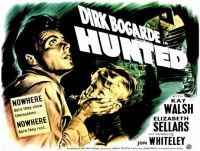HUNTED - 1952 POSTER - DIRK BOGARDE  JON WHITELEY, KAY WALSH