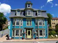 Blue House in Lunenburg