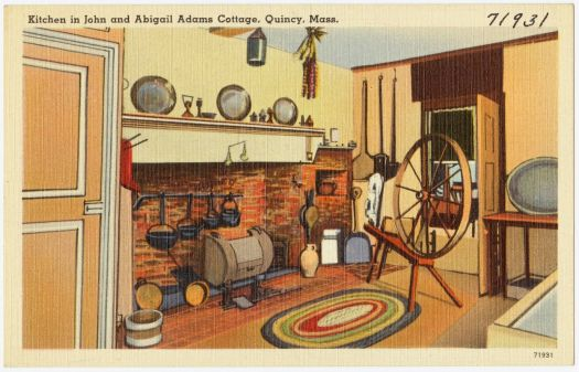 Kitchen in John and Abigail Adams Cottage