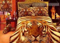 A tiger lovers bedroom