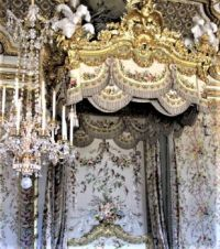 Tester Over Marie Antoinette's Bed, Versailles (large)
