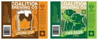 coalition brewing co. labels