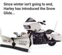 Winter is here, push the snow