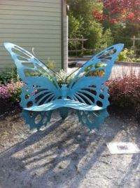 Welded Butterfly Chair