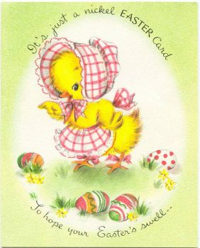 Ducky Easter Greetings