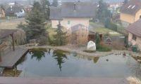 soukromý rybníček