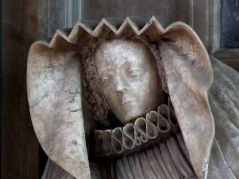 Effigy of daughter of Sir Peregrine Bertie, Parish Church, Spilsby, Lincs