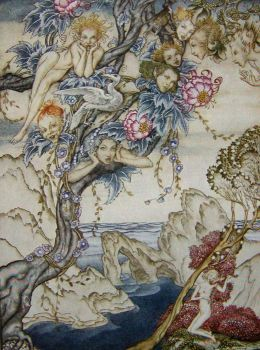 Arthur Rackham - The Tempest