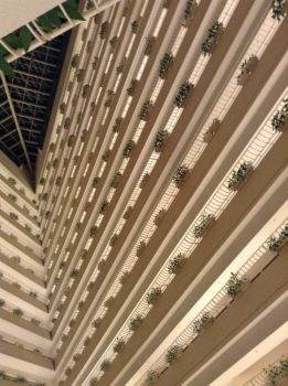 Inside the Pan Pacific Hotel, Singapore