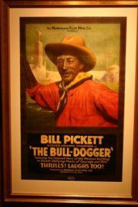 Bill Pickett 'The Bull Dogger'