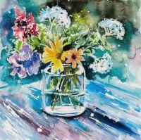 Still Life Wildflowers