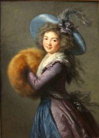 1786 Portrait of Madame Molé-Reymond Élisabeth-Louise Vigée-Le Brun