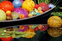 chihuly boat and balls