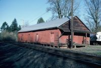 small old rr loading shed