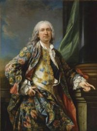 Charles-Andre van Loo (Carle van Loo; French, 1705–1765), Portrait of an Unknown During the Reign of Louis XV