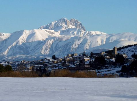 Winter on the Apennines