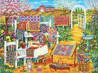 Garden Quilting - 588