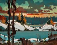 Robert Genn--Scotty's Point, October, Lake of the Woods