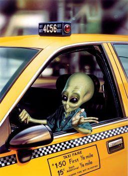Alien Cab by Steve Read