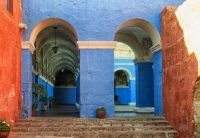 Blue Peruvian Arches
