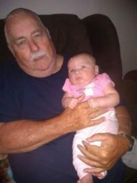 My great-granddaughter and I.