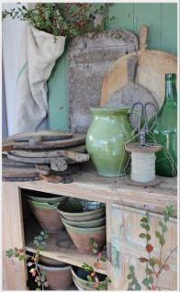 Winter Gardening Cabinet
