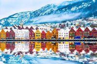 Bryggen Hanseatic Wharf, Bergen, Norway