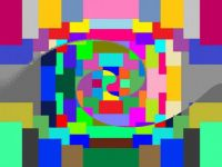 Swirled Post-Its (Medium)