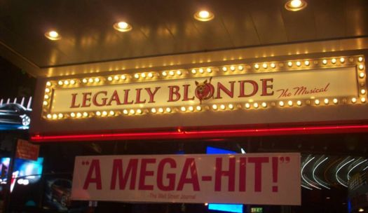 Legally Blond on Broadway