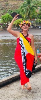 Marquesas island welcomer 1