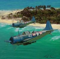 SBD Dauntless Square Trivet