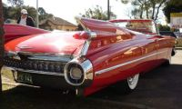 Beauty Red Cadillac