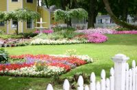 Flowers galore on Mackinac Island