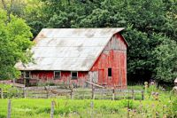 Old Red Barn -- Galena Illinois....