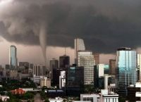 tornado in Downtown Miami